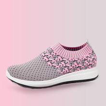 купить 2019 New Women Shoes Flat Platform Shoes Woman Socks Shoes Stretch Fabric Mixed Colors Loafers Fashion Sneakers Slip-On Non-slip дешево