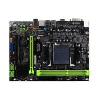 MAXSUN MS A68GT+ Computer Gaming Motherboard Desktop Mainboard Systemboard for AMD A68 FM2/FM2+ Socket SATA USB 3.0 DDR3 mATX