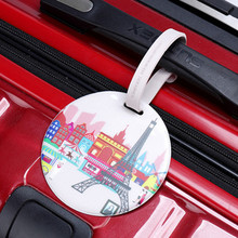 PVC Personalize ID Luggage Tags Travel Suitcase Name Address Holder Tag Wholesale Bulk Lots Accessories Supplies Products