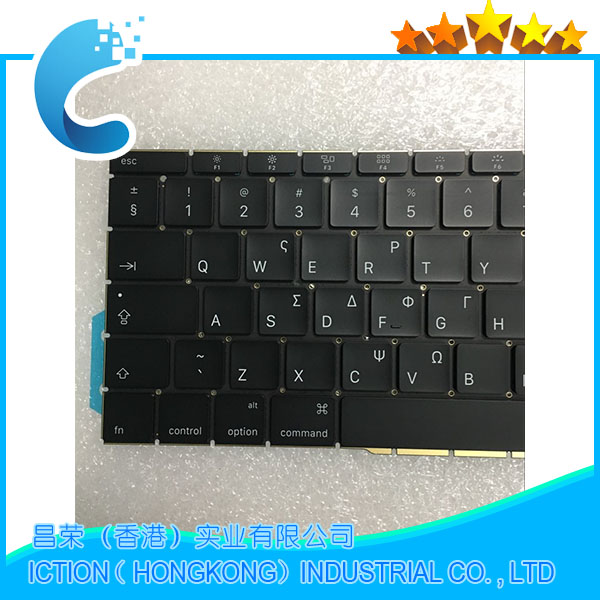 Original New A1708 Keyboard GK Greece Greek for Apple Macbook 13.3 A1708 GK Greece Greek Keyboard Late 2016 Mid 2017 Year lacywear gk 32 fio
