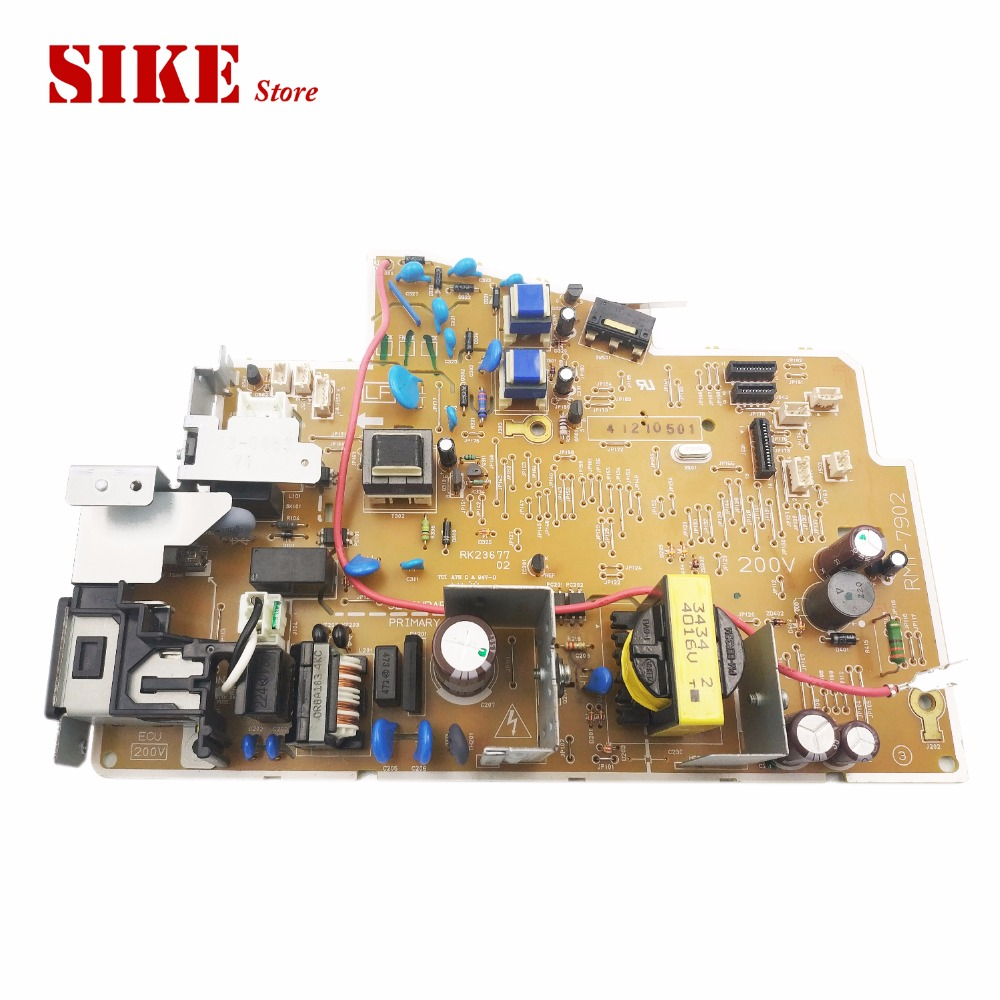 LaserJet Engine Control Power Board For HP M1132 M1136 1136 1132 RM1-7892 RM1-7902 Voltage Power Supply Board used original for hp laserjet cp5225 low voltage power supply pc board assembly