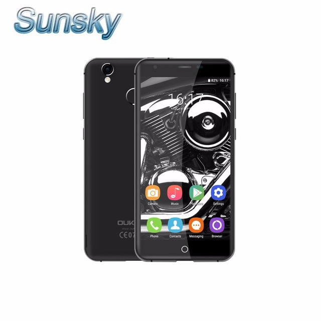 Original oukitel k7000 5.0 pulgadas 1280*720 p mtk6737 quad core android 6.0 Smartphone 2 GB RAM 16 GB ROM 4G LTE Móvil Del Sim Dual teléfono