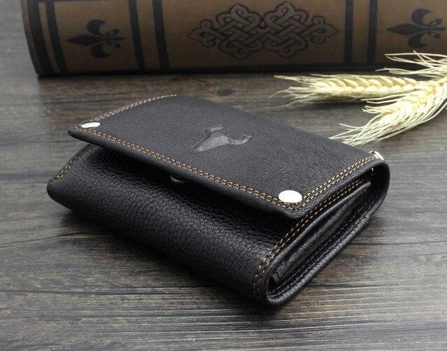 Trifold Wallet w/ Metal Chain  5
