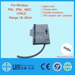 Mindray IPM8/10/12 ребенок рука Размер NIBP манжеты для Монитор пациента с разъемом LC-03