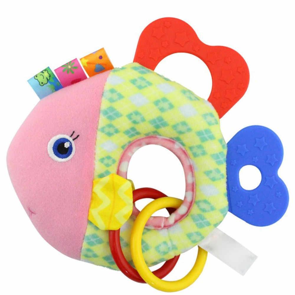 Criança Interessante Plush Infantil Crianças Carrinho de Bebê Recém-nascido Chocalhos Cama Pendurado Bonecas Bonito Crianças Kawaii Brinquedos Bebe Macio MA21f