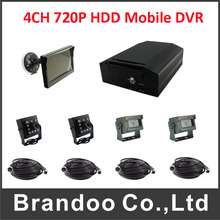 HDD Hard Disk Mdvr Security System Real Time Surveillance vehicle night vision car camera DVR
