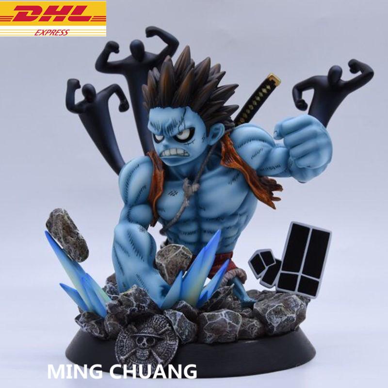 9Statue ONE PIECE Monkey D. Luffy Bust The straw hat Pirates GK Action Figure Collectible Model Toy BOX D616 9statue one piece monkey d luffy bust the straw hat pirates gk action figure collectible model toy box d616