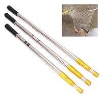 1.5/1.7/1.9m Head Ring Prong Harpoon Spear Rod Fish Dip Net Telescopic Bar Pole|Fishing Rods| |  -