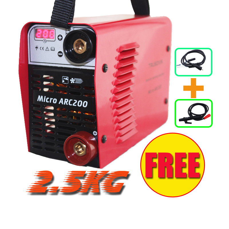 Current digital display 3.2mm electrode welder 220V/230V MINI 200A Inverter DC IGBT DIY Welding machine/equipment /welding tools new zx7250 220v voltage input protable inverter dc igbt diy welding machinery equipment stick welder with accessories eyes mask