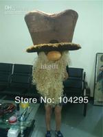 Длинная борода шахтеров талисман костюм для Хэллоуина Рождество костюм на день рождения карнавальный наряд для взрослых Размеры полный Ср
