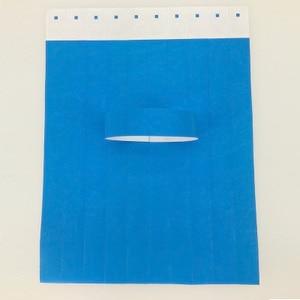 Image 1 - 1000pcs 일회용 다른 색상 사용 가능한 종이 손목 밴드, 이벤트 팔찌, 파티 tyvek 밴드 tyvek 종이 팔찌