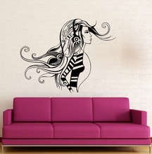 Wall Sticker Vinyl Decal Sexy Girl Music Headphones Cool Decor