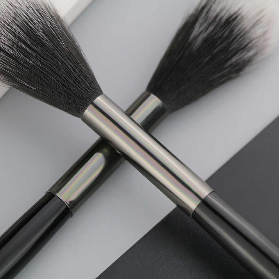 ביילי 1 חתיכה סינטטי שיער הדגש סומק איפור מברשת ארוך ידית אחת איפור מברשת 846 #