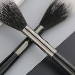 Image 5 - BEILI 1 piece Black Professional Synthetic Makeup brushes Highlighter Blending Blush Eyebrow Eyeliner make up brushes
