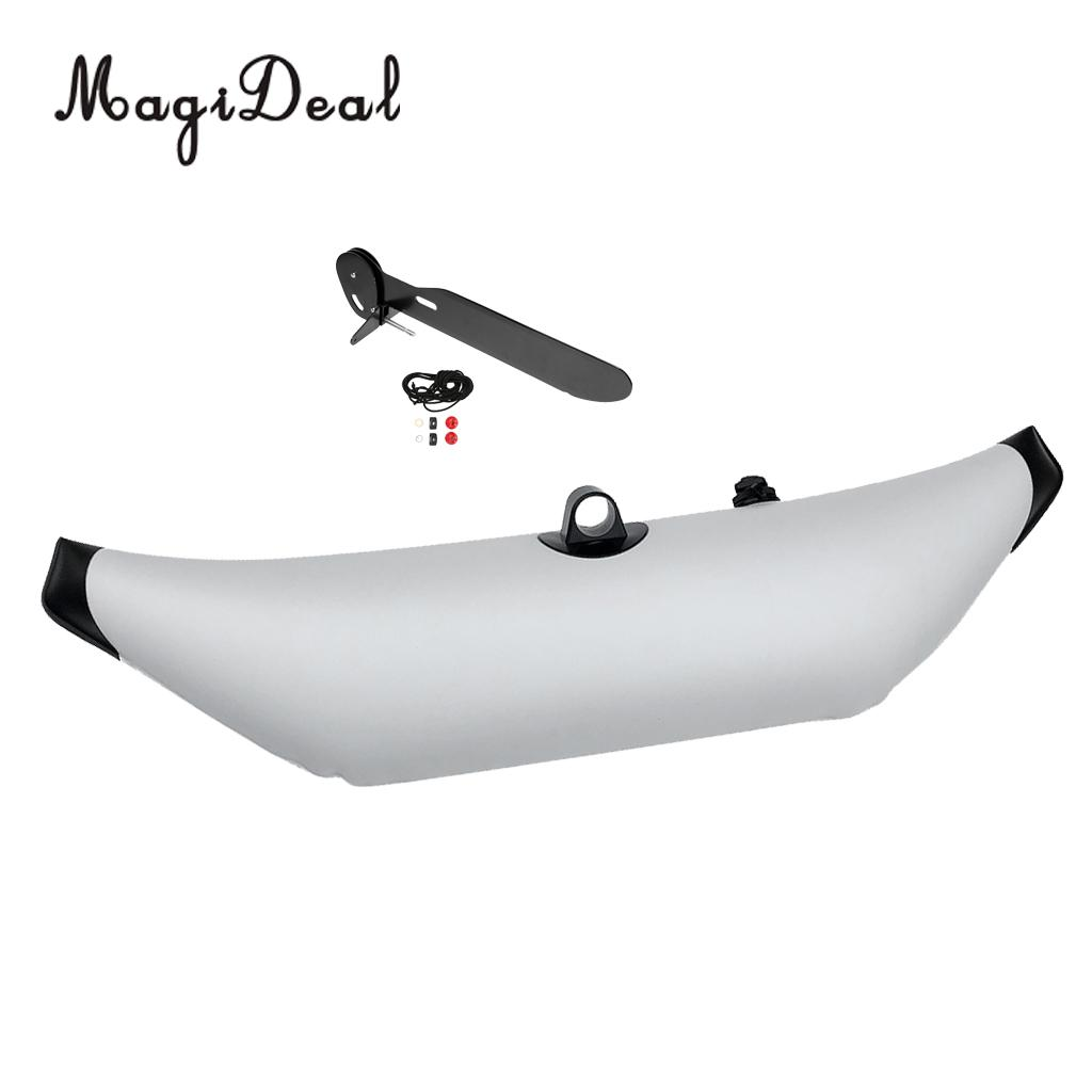 Premium PVC Universal Kayak Canoe Fishing Inflatable Outrigger Stabilizer & Kayak Rudder Kit for Fishing Boat Dinghy Yacht Acces new stainless steel fishing boat transom launching wheel for inflatable boat dinghy yacht raft trolley kayak accessories