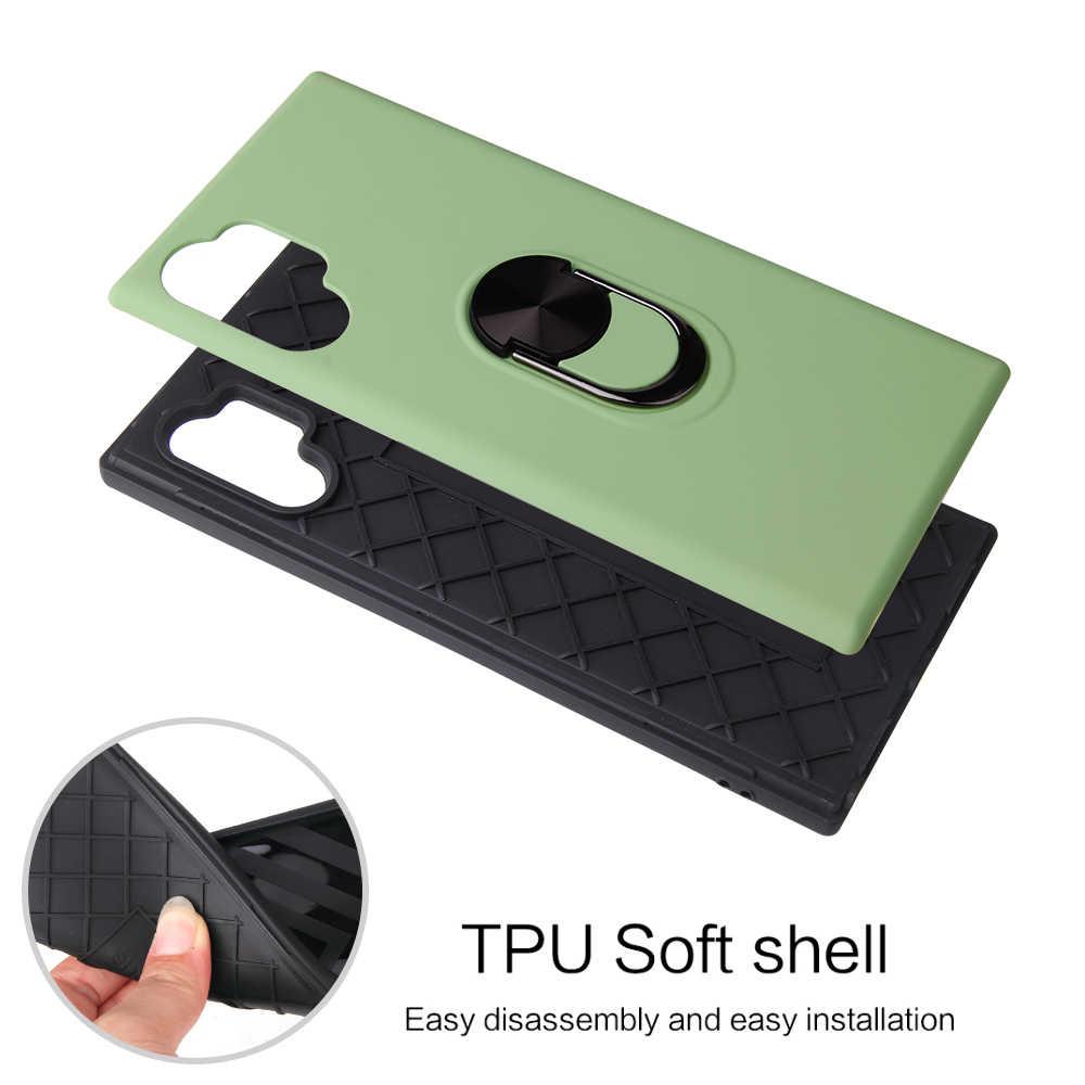 Броня чехол для телефона samsung Galaxy Note 10 Pro S10 Plus E 9 8 Plus подставка держатель автомобильное кольцо чехол для телефона samsung S10 5G Fundas