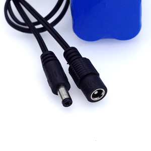 Image 3 - LiitoKala Protect 7.4 V 5200 mAh  8.4 V 18650 Li lon Battery Bike lights Head lamp special DC 5.5MM + 1A Charger