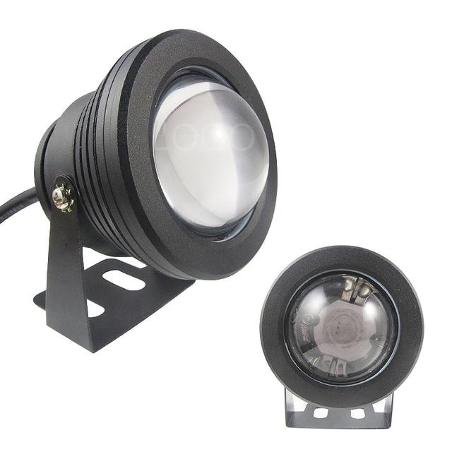 1PC 10W 12V RGB Led Light rgb spotlight 1000LM Waterproof IP67 Fountain Swimming Pool Lamp Lights Projection lamp floodlights