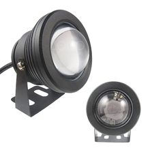 DC 12V 10W LED Underwater Light IP68 Outdoor Swimming Pool Flood Wash Light Spot Lamp LED Spotlight With 24key Remote controller