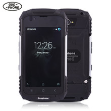 GuoPhone V88 smartphone android MT6580 quad core waterproof shockproof phone 4.0Inch 1GB 8GB 8MP 3200mAh 3G mobile mhone