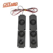 GHXAMP 2PCS 8OHM 10W Long box Full Range Subwoofer Speaker Diaphragm LCD Advertising Machine Monitor TV Speakers 200*45MM