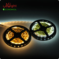 5 meters SMD5730 12V Flexible LED Strip High Brightness Non-Waterproof IP20 Jewelry Lighting Tape Lights