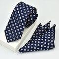 15 Estilo de La Marca de Moda Para Hombre Corbatas Paisley Jacquard Floral Del Banquete de Boda Corbata Corbata Para Los Hombres Camisas de Negocios
