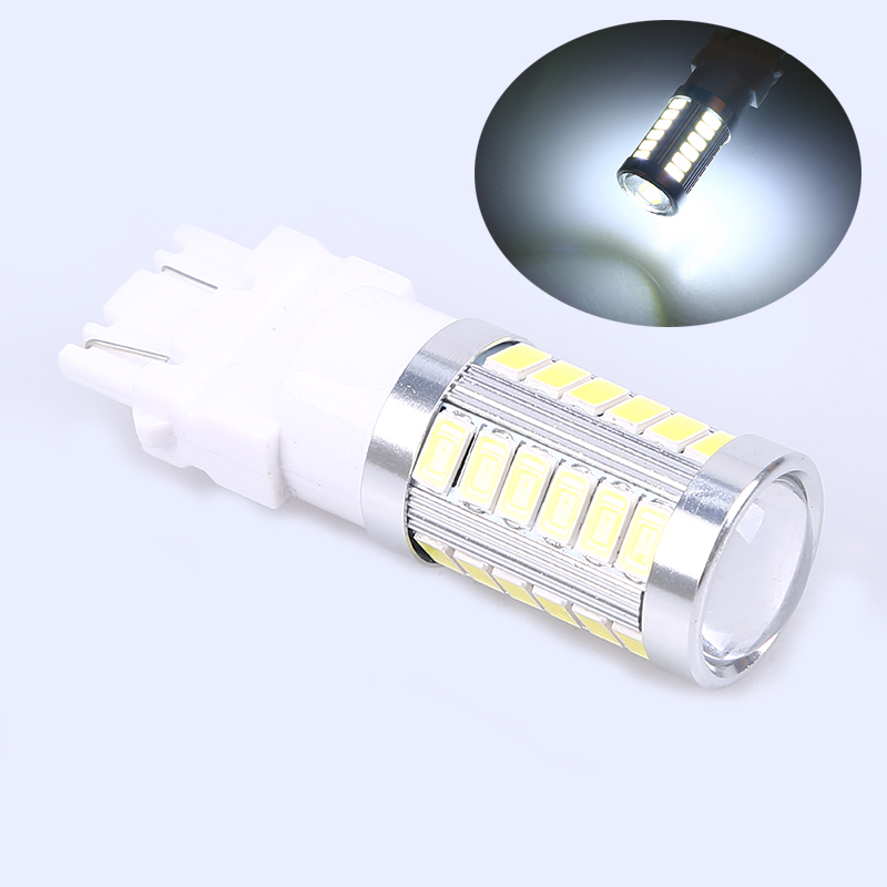 POSSBAY Universal Auto Truck Car T25 3157 SMD 33 LED Lights Accessories Signal Reverse Paking Daytime Running Lights 1Pcs 12 V