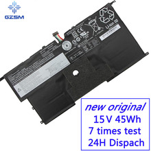GZSM Laptop Battery 45N1702 45N1700 45N1701 battery for laptop 45N1703 For Lenovo ThinkPad X1 Carbon Gen 2 20A7 20A8 battery lp140qh1 spb1 lp140qh1 sp b1 for lenovo thinkpad x1 carbon gen 2 replacement 14 laptop slim lcd led screen display