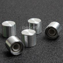 5pcs High Quality  Knob 15*13mm Round Shaft Audio Knob Potentiometer Knob – Silver