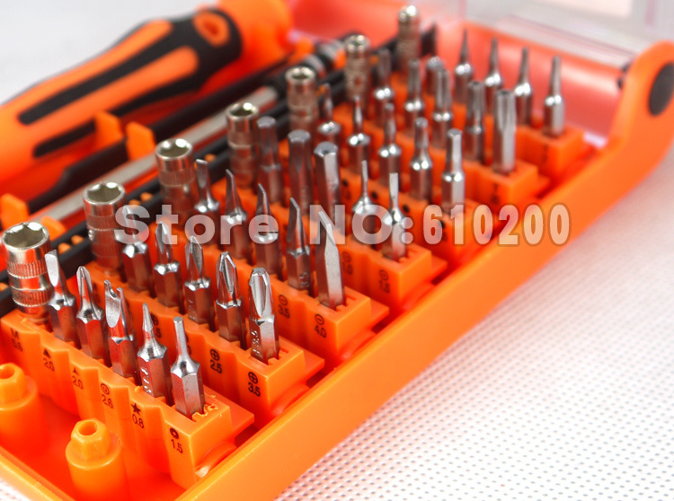 43 in1 Multi-purpose Precision Screwdrivers Set FOR iPhone Samsung Android Galaxy family repair Notebook phone open tool