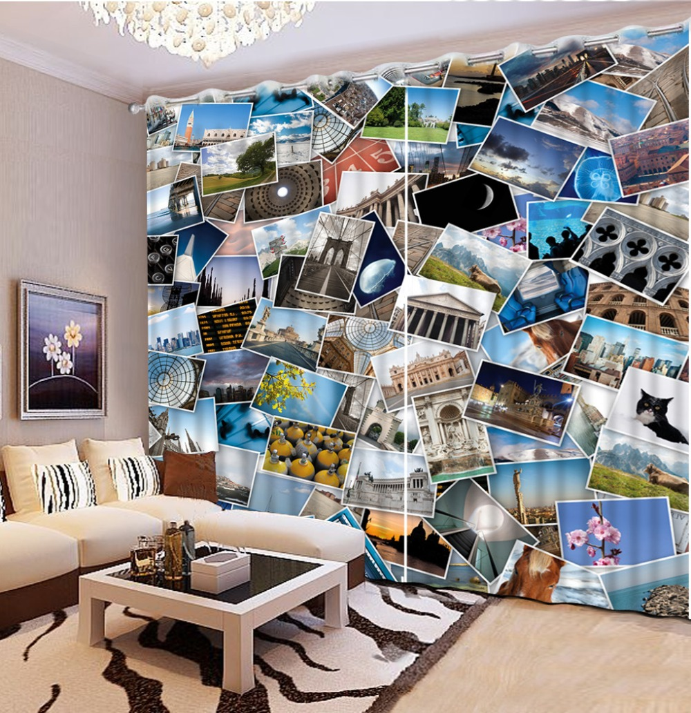3d Curtain Custom Size Landscape photo Curtains For Bedroom Curtains For Living Room Home Curtains 2019 new   3d Curtain Custom Size Landscape photo Curtains For Bedroom Curtains For Living Room Home Curtains 2019 new
