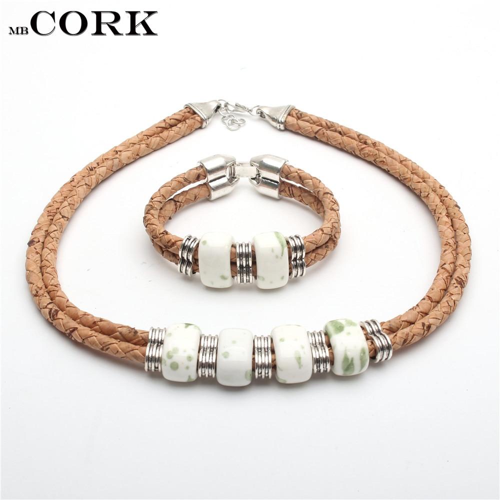 Cork Jewelry: Aliexpress.com : Buy Cork Jewelry Set From Portugal White