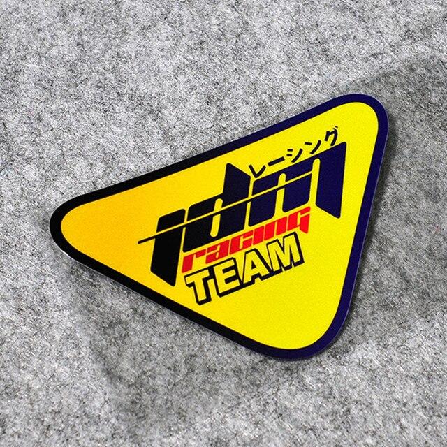 Jdm Racing Team Stickers Motocross Moto Gp Racing Motorcycle Helmet