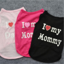 """I Love My Mommy and Daddy"" Chihuahua t-shirt"