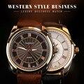 Мужские кварцевые часы YAZOLE  деловые светящиеся водонепроницаемые наручные часы  2019