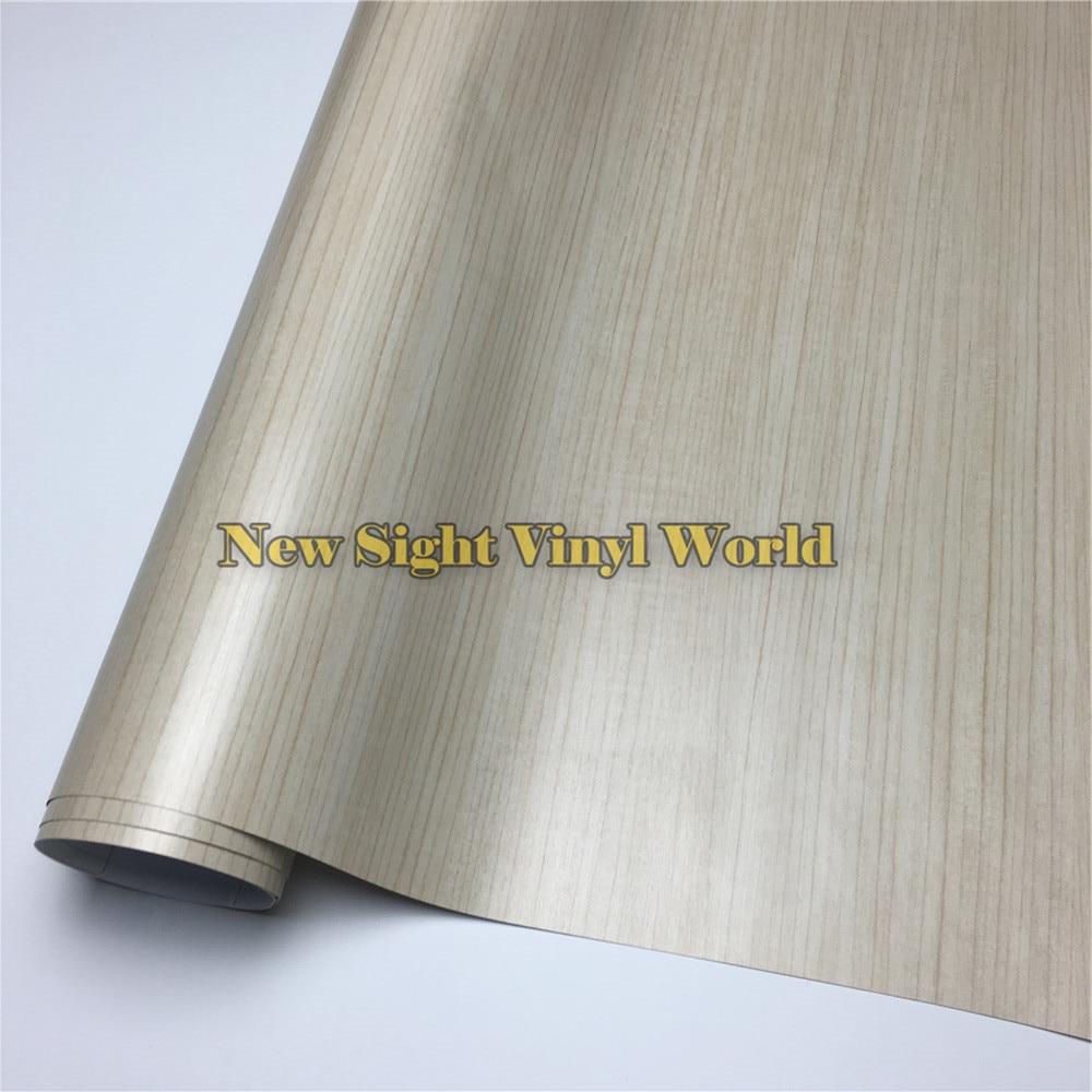 Teak Wooden Grain Vinyl Wrap Film For Floor Furniture Auto Interier Size:1.24X50m/Roll(4ft X 165ft)