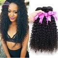 Перуанский Девственные Волосы Курчавые Вьющиеся 3 Связки Kinky Вьющиеся Волосы Девственницы Класс 7А Человеческие Волосы Соткать Дешевые Перуанские Курчавые Волосы