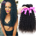 Peruvian Virgin Hair Kinky Curly 3 Bundles Kinky Curly Virgin Hair Grade 7A Human Hair Weave Cheap Peruvian Curly Hair