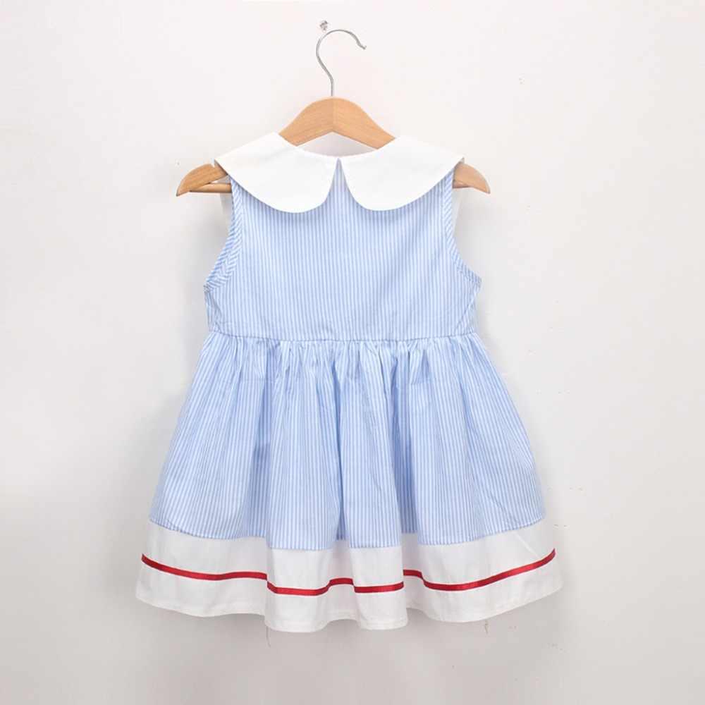 Одежда для маленьких девочек; праздничные платья принцессы без рукавов с вишневой полоской; платье для девочек; костюм принцессы; Прямая поставка; Mar23