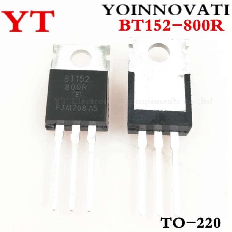 100pcs/lot BT152-800R BT152-800 BT152 THYRISTOR 20A 800V TO220AB TO220.