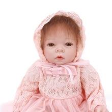 OtardDolls Bebes Reborn Dolls 22 55cm Silicone soft vinyl Boneca Realista Fashion Baby For Princess Birthday Gift menina