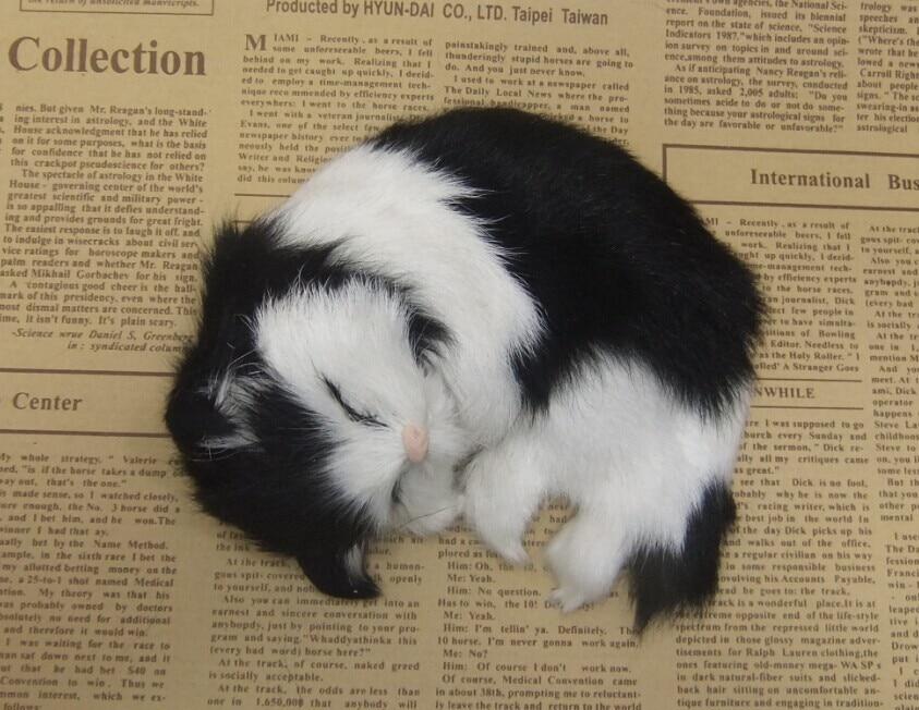 Štiri barvne neobvezna simulacija krzno živali mačka nap super - Dekor za dom - Fotografija 6
