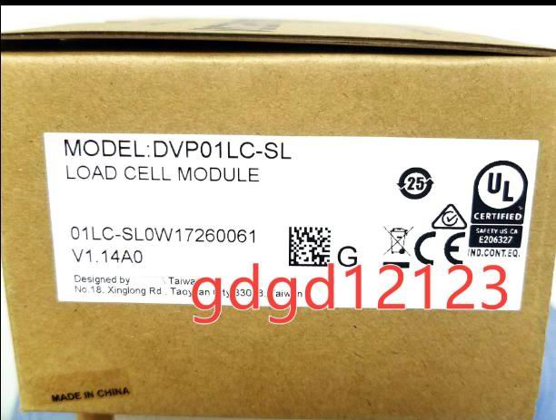 Original  DVP01LC SL PLC High Speed Load Cell Module Left Side 24VDC 24bit Resolution in box|Cable Winder| |  - title=