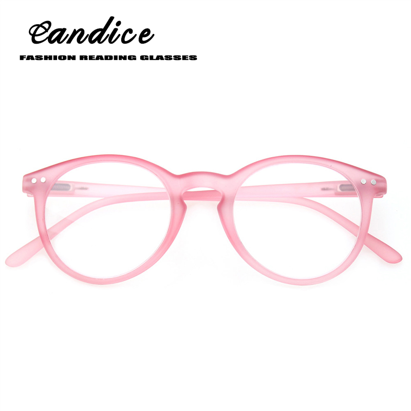 Fashion round frame Reading Glasses Spring Hinge Professer Readers for Men and Women Fashion Glasses for Reading Includes Sun Re