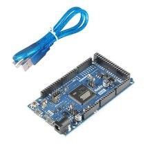 ИЗ-ЗА 2013 R3 Совета AT91SAM3X8E ARM 32 Бит для Arduino с Кабель для Передачи Данных Комплект Бесплатная Доставка