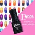 BD 1pcs/lot Temperature Change Color UV Gel Nail Polish Thermal Color Changing Gel Polish Chameleon Salon Soak Off Nail Art