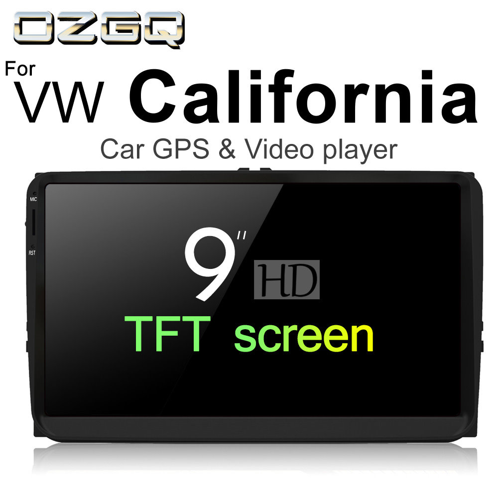OZGQ Android 7.1 Car Player For VolksWagen VW California 2003~2018 HD Screen Auto GPS Na ...