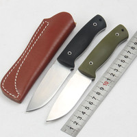High Quality Hunting Knife Straight Knife Blade D2 Handle G10 Pocket Knife Outdoor Camping Survival Tools Tactical Utility Knive