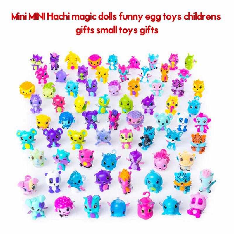 цена на Cartoon Animals Mini PVC Action Figure Model Horse Dog Collectible Dolls Kids Toys for Children